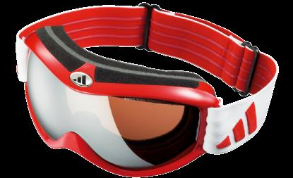 Adidas A133 6062 Red Metal (lst Trail Silver) sunglasses