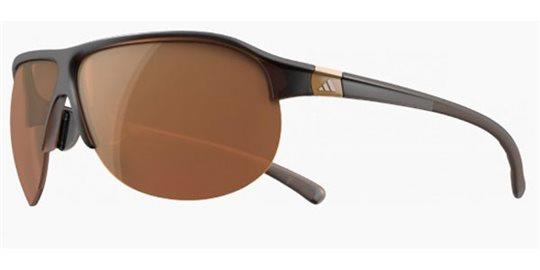 Adidas a179 Tourpro S 6055 Shiny Brown/LST Contrast Silver Sunglasses