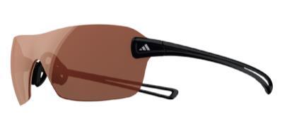 Adidas a407 Duramo S 6050 Shiny Black LST Active Lens Sunglasses
