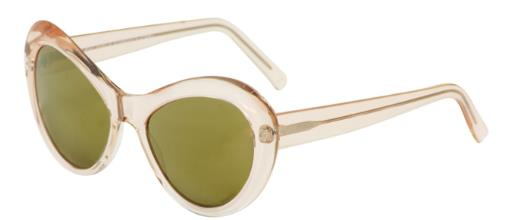 Andy Wolf Sugar C Peach Crystal sunglasses