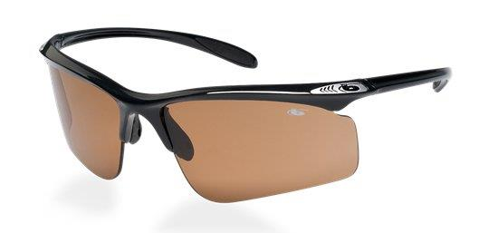 Bolle Eaglevision Warrant Shiny Black Eaglevision 2 Dark sunglasses