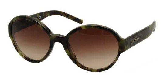 180120a8403 Burberry BE4111 328013 Green Havana Brown Shaded sunglasses