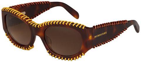 Burberry BE4120Q 331613 Dark Havana Sunglasses