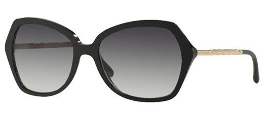 ee97572824d Burberry BE4193 30018G Black Grey Gradient sunglasses