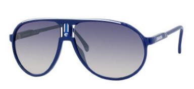 Carrera Champion/p/s 08VD Blue White (G5 Azure Mirror Flash Lens) sunglasses