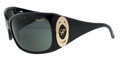 Chopard SCH063 700 Black Grey Green sunglasses