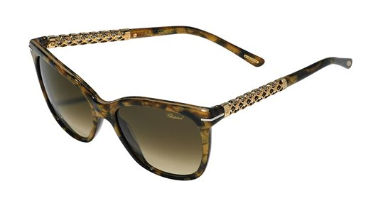 d9216b4c38 Chopard SCH207S 09Gf Brown Gold sunglasses
