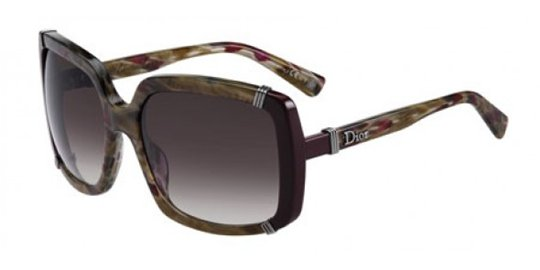 Christian Dior Dior Chicago 1/S 045O Havana Burgundy sunglasses
