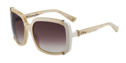 Christian Dior Dior Chicago 1/S 0TRY Pink Mother Of Pearl Brown Violet Shaded Lens sunglasses