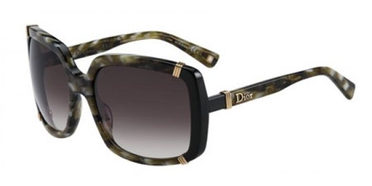 Christian Dior Dior Chicago 1/S 0UPP Olive Gray sunglasses