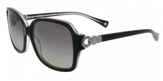 46d52ebdd0c1f Coach HC8009 504811 Black Crystal Gray Gradient sunglasses