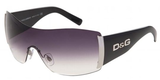 D&G DD8039 501/8G Black Gray Gradient sunglasses