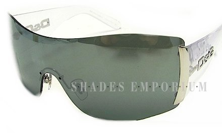 D&G DD8039 6566G crystal gray silver mirror sunglasses