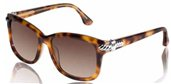 David Yurman Thoroughbred DY059 22 Havana with Silver sunglasses