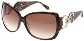 Diva 4183 AR5 Brown Marble Gold/Brown Gradient Lens sunglasses