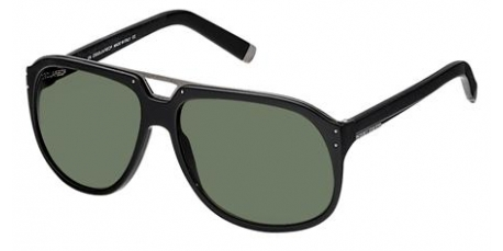 Dsquared DQ0005 02N Black Ruthenium/Green sunglasses