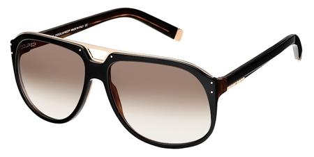 Dsquared DQ0005 05F Gold Dark Havana/DarkBrown Shaded sunglasses