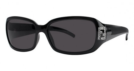 Fendi FS350R 001 Gray Black sunglasses