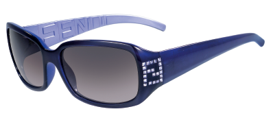 Fendi FS350R 513 Dark Violet/Light Gray Shaded sunglasses