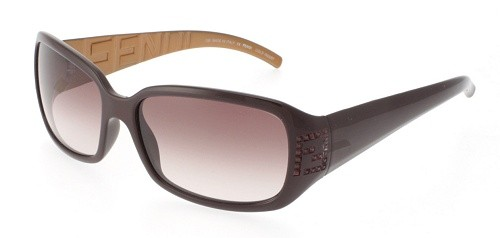 Fendi FS350R 600 Violet/Violet Shaded sunglasses