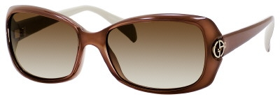 Giorgio Armani 695/S 050D Transparent Brown Beige Brown Gradient Len sunglasses