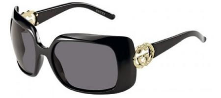Gucci 3034/S 0D28 BN Black Black Gold sunglasses