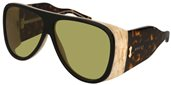 Gucci GG0149S 001 GREEN sunglasses