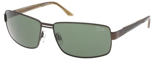Jaguar 37324 602 Tobago, Brown/Green Polarized sunglasses