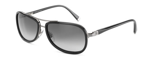 John Varvatos V727 001 Black sunglasses