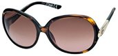 Just Cavalli JC318S 52F Dark Havana, Rose Gold, Gradient Brown Lenses sunglasses