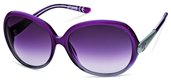Just Cavalli JC318S 83P Grey Shaded Pearl Violet, Light Ruthenium, Dark Grey Gradient Violet Lenses sunglasses