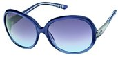 Just Cavalli JC318S 92B Pearl Sky Blue Shaded Blue, Light Ruthenium, Light Blue Shaded Dark Grey Lenses sunglasses