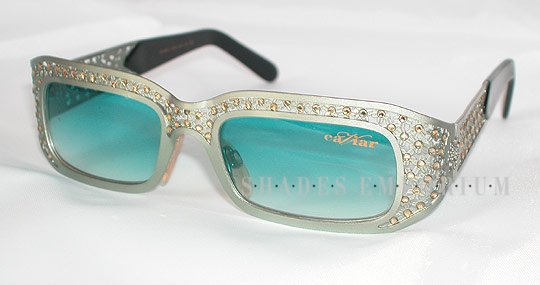 Luxury L6276 2 16 136 Silver sunglasses