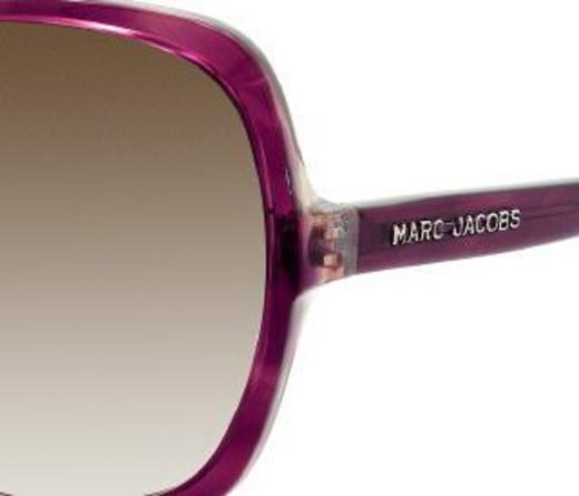 Marc Jacobs 247 0BHO DB Dark Purple / Brown Gray Gradient sunglasses