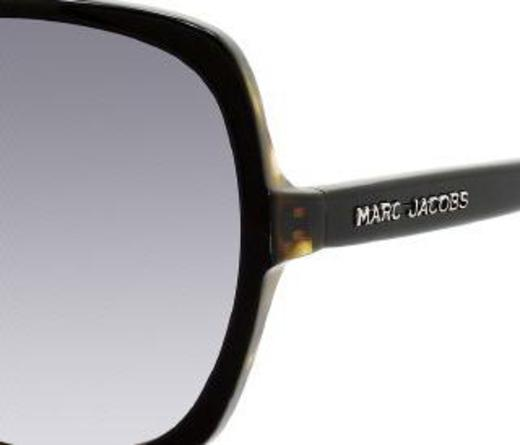 Marc Jacobs 247 0J7R LF Black Havana / Gray Gradient sunglasses
