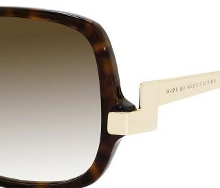 Marc by Marc Jacobs 087/S 0ANT Havana Gold (gray Gradient Lens) sunglasses