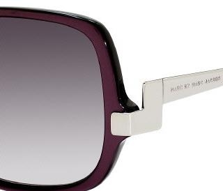 Marc by Marc Jacobs 087/S 0NUA Pearl Plum/Palladium(gray Gradient Aqua Lens) sunglasses