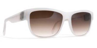Mykita Audrey 901 Cream White Brown Gradient sunglasses