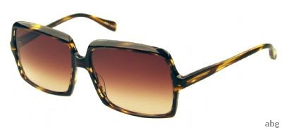 Oliver Peoples Apollonia Havana Spice Brown Gradient sunglasses