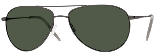 Oliver Peoples Benedict Black Chrome With G15 Polar (polarized) sunglasses