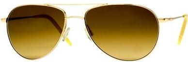 Oliver Peoples Benedict Gold Curry Photo Polar sunglasses