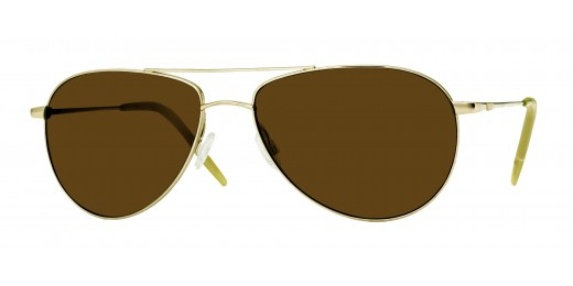 Oliver Peoples Benedict Gold With Java Polar sunglasses