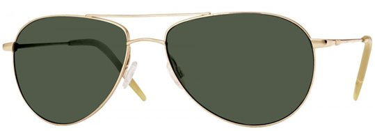 Oliver Peoples Benedict Gold With Mineral Glass G15 sunglasses