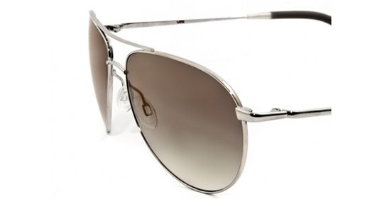 Oliver Peoples Benedict Silver Grey Gradient Quartz Photochromic sunglasses