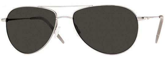 Oliver Peoples Benedict Silver With Mineral Grass Grey sunglasses