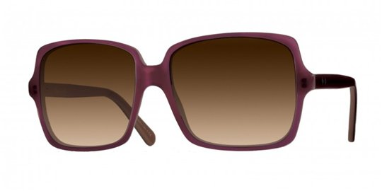 Paul Smith Eponine Magnolia Chiffon With Concord Gradient sunglasses