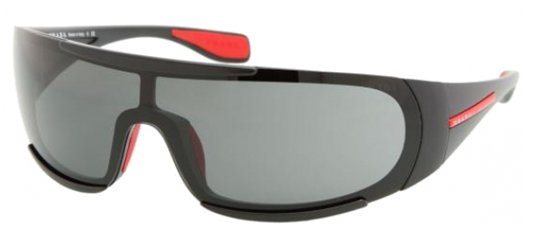 Prada Sport PS 03MS 1AB9Q1 Black sunglasses
