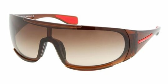 Prada Sport PS 03MS 4AN6S1 Brown Brown Gradient sunglasses
