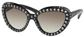 Prada PR 31QS - Ornate 1AB0A7 Black sunglasses