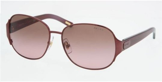 Ralph RA4068 147/14 Burgundy sunglasses